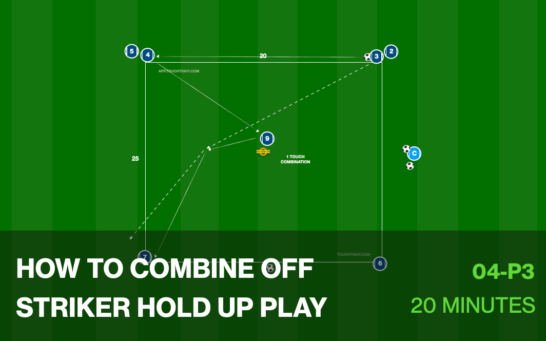 How to Combine Off Striker Hold Up Play (04-P3)