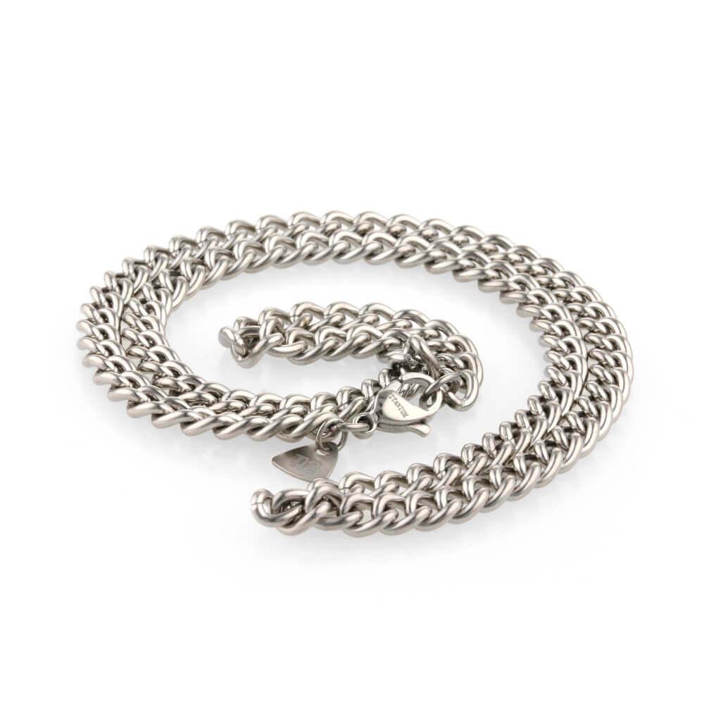 Hypoallergenic titanium chain
