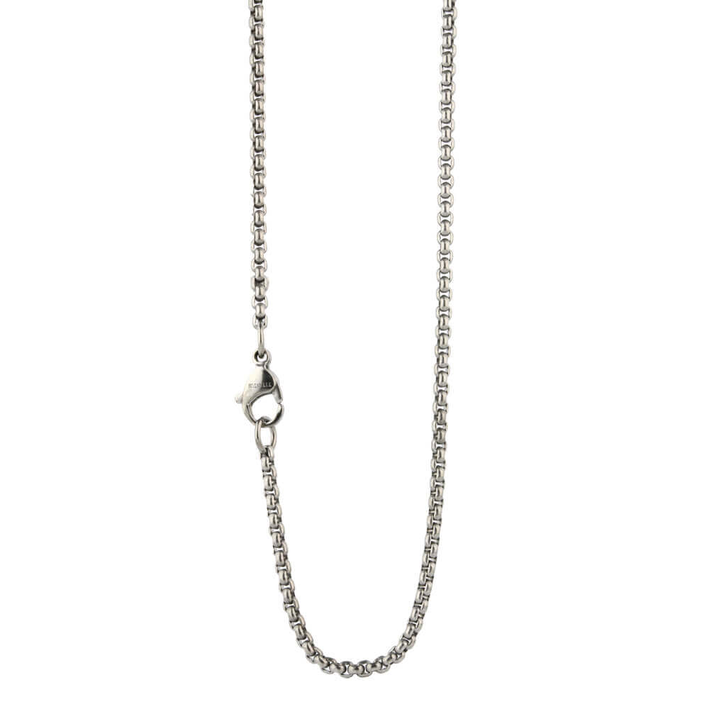 Fine Venetian Inka titanium chain on TouchTitanium.com <p>Stylish, iconic and comfortable titanium necklace chain. Made from 100% hypoallergenic titanium. Made to order. Super lightweight and comfortable to wear. Our products are designed to fit in with your lifestyle.</p>