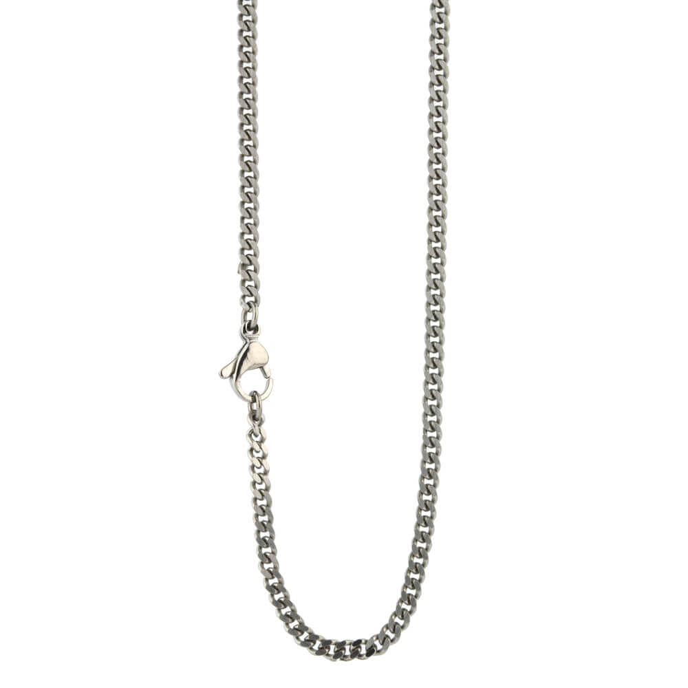 Medium titanium comfort chain on TouchTitanium.com <p>Strong and comfortable. Titanium chain made to fit in with your lifestyle. This is a solid mid-weight chain, designed for every day wear. Made from 100% hypoallergenic titanium and available in a range of sizes to choose from, all fitted with durable titanium clasps.</p>