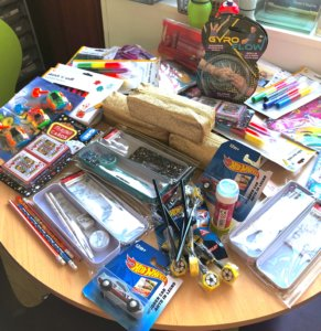 Prizes for intensive touch typing lessons
