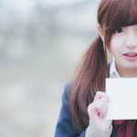 かわいいフリー素材女子高生!