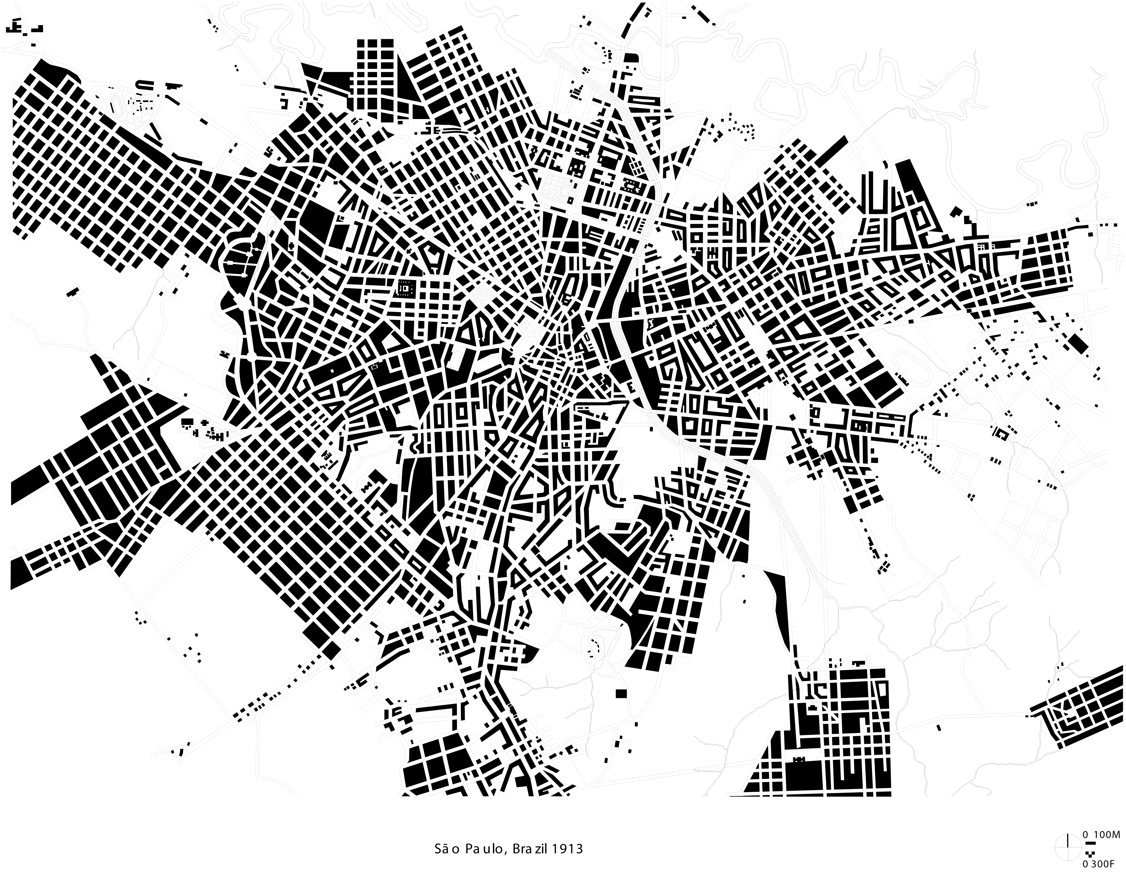 Historical Figure Ground Drawings