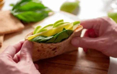 Apple Cheddar Pocket Sandwich
