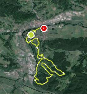 Getting tough - the race, Rudolstadt, Streckenverlauf