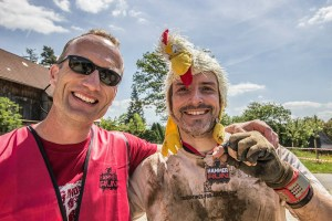 Hammer Run Bayreuth 2015, Nate und Tough Chicken