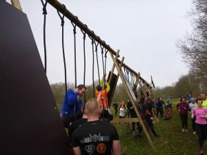 Strong Viking Obstacle Run 2015, Mud Edition, Dragon Ropes