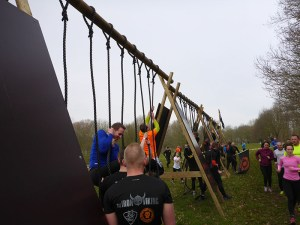 Strong Viking Obstacle Run 2015, Mud Edition, Dragon Ropes