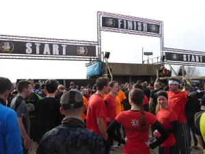 Strong Viking Obstacle Run 2015, Mud Edition, Start Area