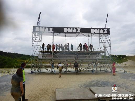Mud Masters Obstacle Run 2015, Hindernis Splash Jump Tower