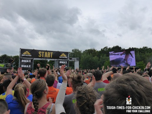 Mud Masters Obstacle Run 2015, Hindernis Start