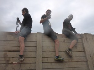 Tough Mudder NRW 2015, Hindernis Berlin Walls 1