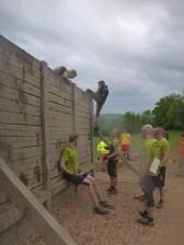 Tough Mudder NRW 2015, Hindernis Berlin Walls 2