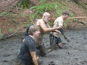 Tough Mudder NRW 2015, Hindernis Mud Mile 2