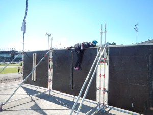 TOUGHEST 24H XTREME 2015, Hindernis Big Wall 2