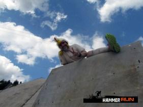 Hammer Run Hirschau 2015, Hindernis Wall