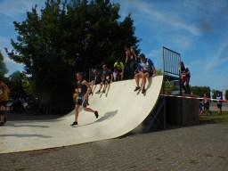 Hindernislauf Baden-Württemberg, Motorman Run 2015, Halfpipe
