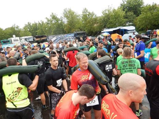 Hindernislauf Bayern, Rock.Race 2015, Hindernis Sandsack