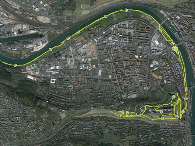 Hindernislauf Bayern, Rock.Race 2015, Streckenverlauf