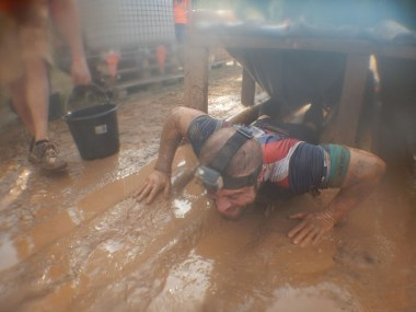 Hindernislauf Bayern, Tough Mudder Süddeutschland 2015, Hindernis Birth Channel