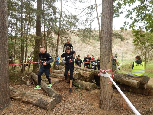 Hindernislauf Bayern, Runterra 2015, Strecke im Wald
