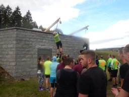 Hindernislauf Baden-Württemberg, Rothaus Mudiator Run 2015, Hindernis Seil