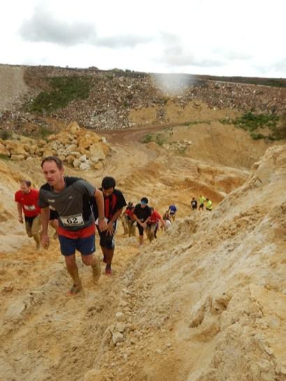 Hindernislauf Hessen, Bad Wolf Dirt Run 2015, Sandgrube