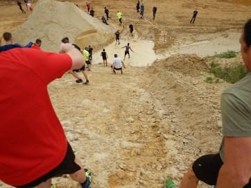 Hindernislauf Hessen, Bad Wolf Dirt Run 2015, Strecke