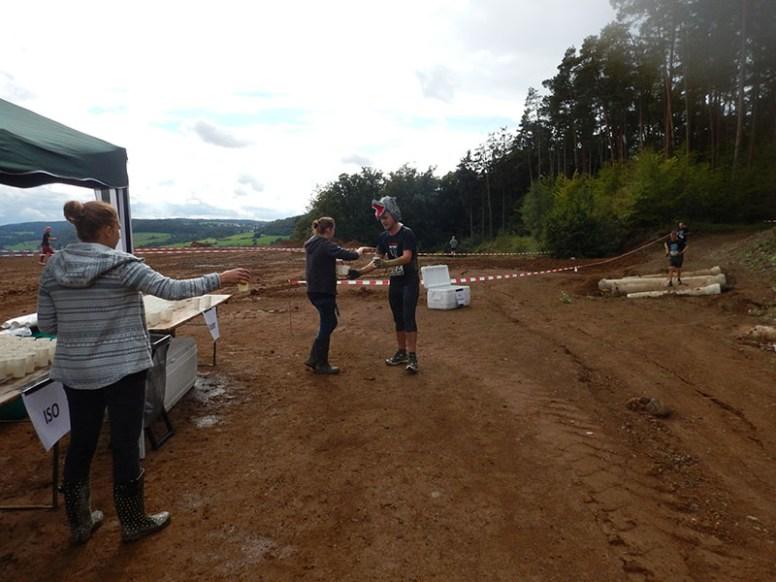 Hindernislauf Hessen, Bad Wolf Dirt Run 2015, Verpflegungsstation