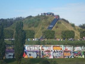 Hindernislauf Nordrhein-Westfalen, XLETIX Challenge Ruhrgebiet 2015, Blick auf Fantastic Flight
