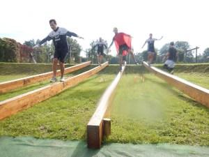 Hindernislauf Nordrhein-Westfalen, XLETIX Challenge Ruhrgebiet 2015, Hindernis Ball Buster