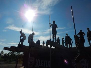 Hindernislauf Nordrhein-Westfalen, XLETIX Challenge Ruhrgebiet 2015, Hindernis Beasty Balance 5
