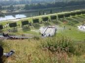 Hindernislauf Nordrhein-Westfalen, XLETIX Challenge Ruhrgebiet 2015, Hindernis Fantastic Flight von oben