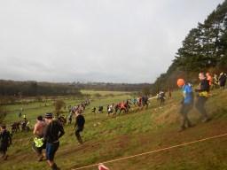 Hindernislauf England,Tough Guy 2016, Hindernis Rabbit Hill Schleifen