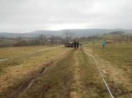 Hindernislauf Bayern, Braveheartbattle 2016, Strecke Richtung Bischofsheim