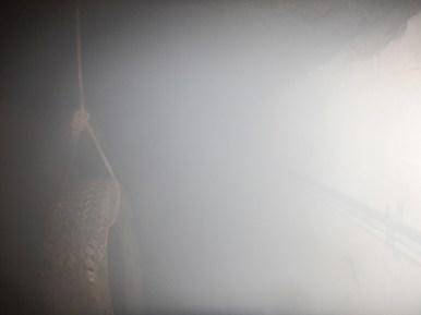 Hindernislauf Belgien, 24H XTREME Team Running 2016, Tunnel mit Nebel