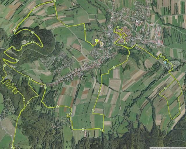 Strecke Braveheartbattle 2016, Streckenverlauf, Hindernislauf Bayern