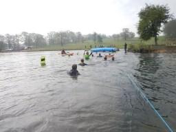 Hindernislauf England, Rat Race Dirty Weekend 2016, Hindernis River Rat Race