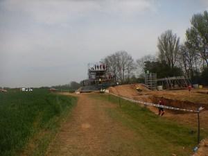 Hindernislauf England, Rat Race Dirty Weekend 2016, Hindernis Sprungturm
