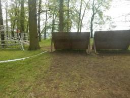 Hindernislauf England, Rat Race Dirty Weekend 2016, Hindernis War Zone Wand
