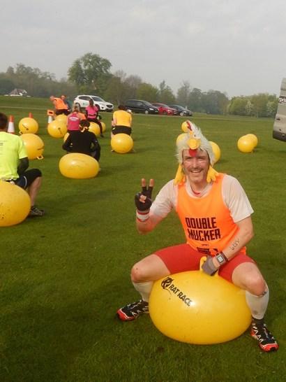 Hindernislauf England, Rat Race Dirty Weekend 2016, tough chicken school daze