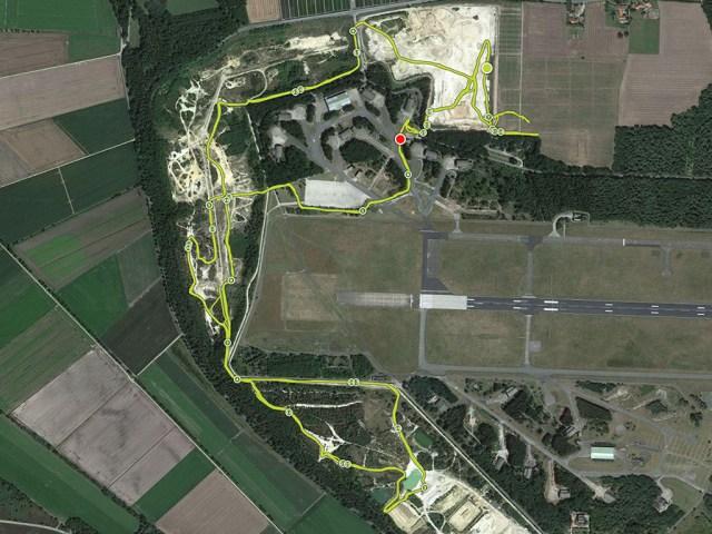 Mud Masters Obstacle Run, Weeze, Streckenverlauf 6 Kilometer Runde