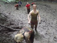 Tough Mudder, Hindernislauf NRW, Berg und Talfahrt Fun