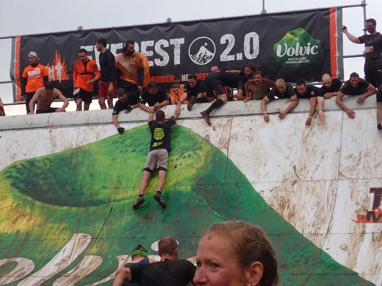 Tough Mudder, Hindernislauf NRW, Hindernis Everest 2.0