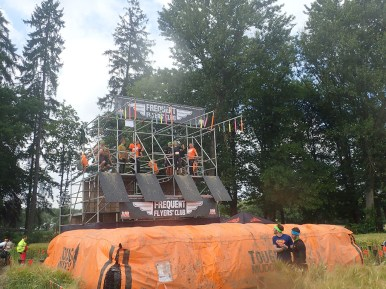 Tough Mudder, Hindernislauf NRW, Hindernis Frequent Flyers Club