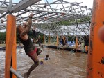 Tough Mudder, Hindernislauf NRW, Hindernis Funky Monkey 2.0 Start