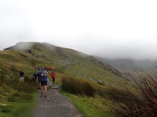 Rat Race Man vs. Mountain, Hindernislauf Wales, am Fuß des Snowdon