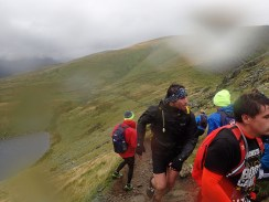 Rat Race Man vs. Mountain, Hindernislauf Wales, am Wendepunkt