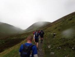 Rat Race Man vs. Mountain, Hindernislauf Wales, Uphill again