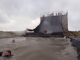 Neptunus Run Hindernislauf Belgien, Hindernis Tobogaaaan Abflug